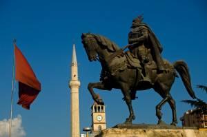 ALBANIA - Skanderbeg, Tirana
