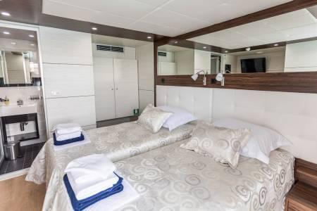Adriatic Queen - Twin Cabin