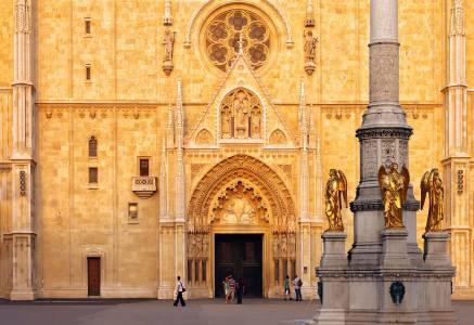 Zagreb Cathedral Entrance
