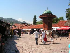 BIH - Old Town Bascarsija, Sarajevo