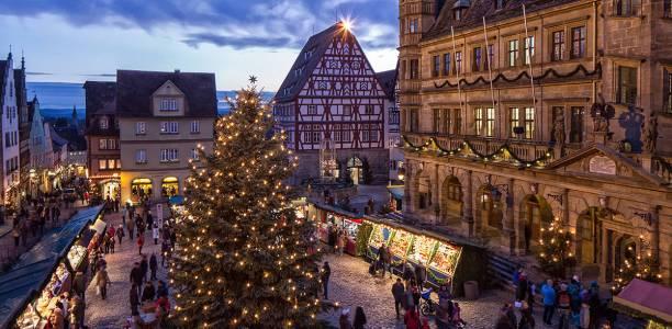 Christmas Market in Rothenburg
