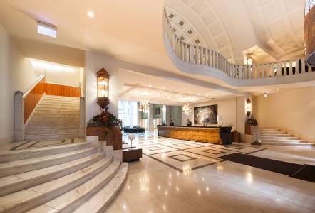 Continental-Hotel-lobby