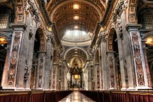 ITALY - Interior Of St. Peters Basilica