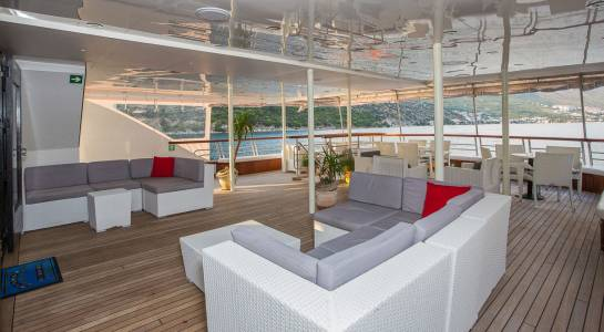 M/S Prestige - Outdoor Terrace
