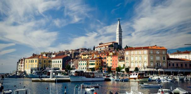 Rovinj Old Town Center