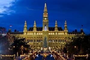Viennese Christmas market