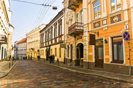 Vilnius Old Town Street