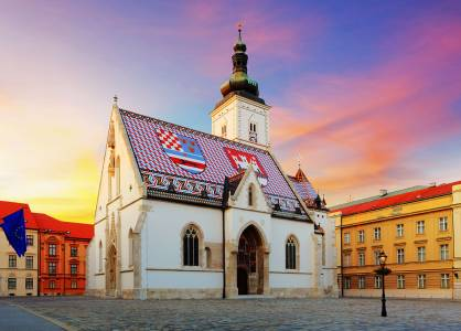 St. Mark church, Zagreb