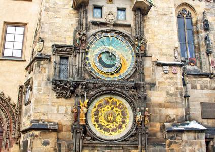 Astronomical clock at the Old Town square