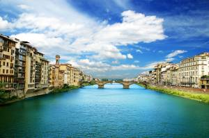 Canal View - Florence, Italy
