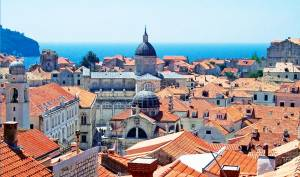 The rooftops of Dubrovnik