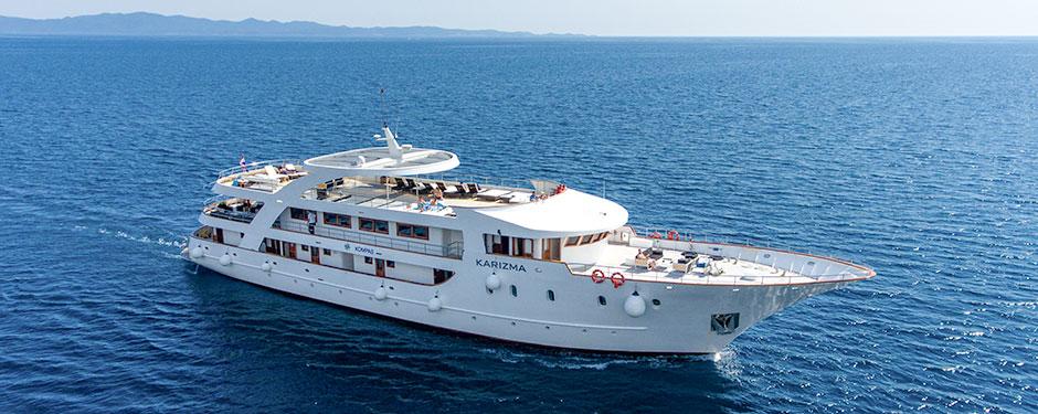 Adriatic Cruises aboard small ship Karizma