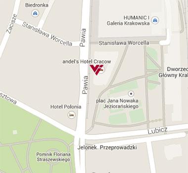 andels-krakow_on-map