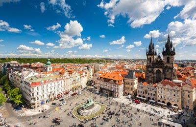 Prague, Vienna, Bratislava, Budapest & Slovenia