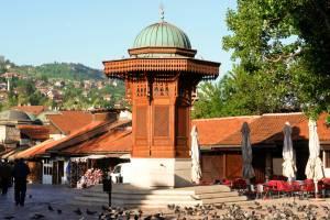 Sarajevo - Historical Fountain