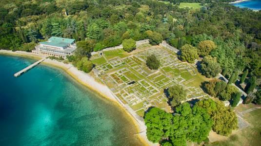 Brijuni National Park Aerial View