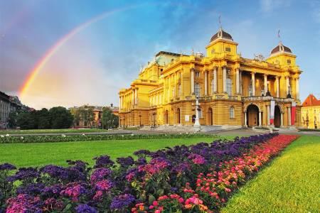 Croatian National Theater, Zagreb