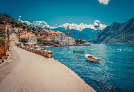 Kotor bay harbor
