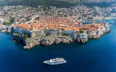 MS Karizma Next To Dubrovnik