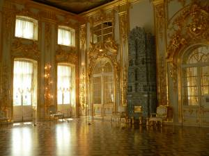 St. Petersburg - Katherine's Palace Hall In Tsarskoe Selo (Pushkin)