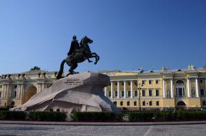 St. Petersburg - The Equestrian Statue Of Peter The Great