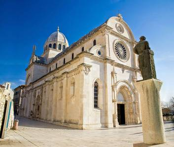 St. James Cathedral In Sibenik