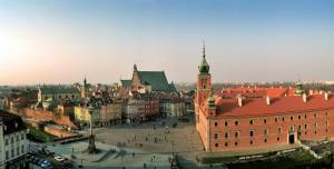 The Historical Square - Warsaw, Poland